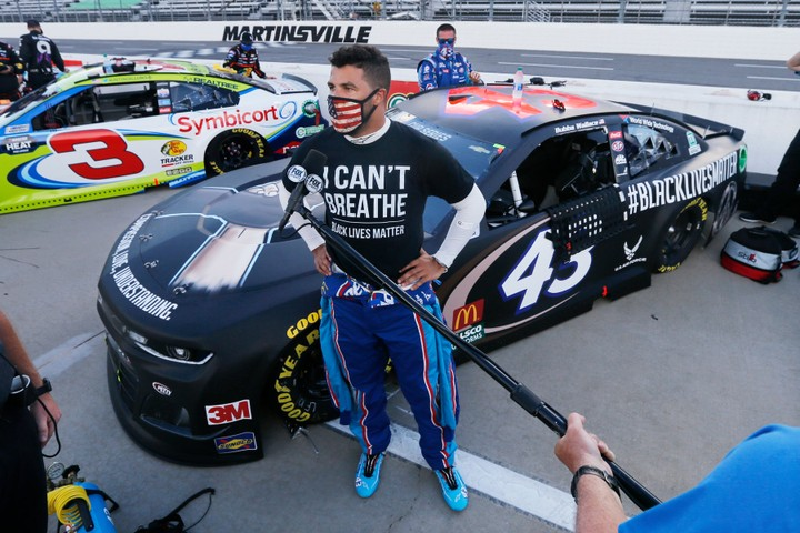 Bubba Wallace incurs Widespread Backlash on Twitter