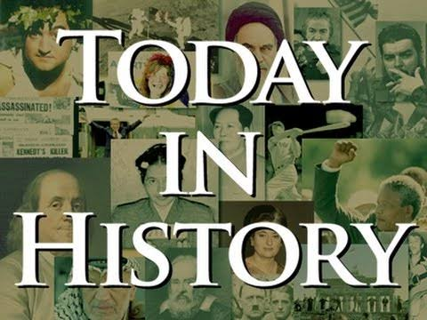 Today in history, history august 1