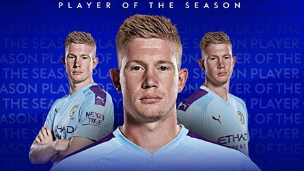 Kevin De Bruyne beats Liverpool trio Jordan Henderson, Sadio Mane and Trent Alexander-Arnold to win Premier League Player of the Season Unkleaboki