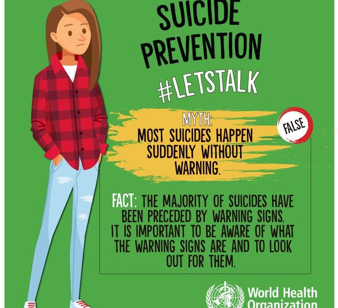 World Suicide awareness day