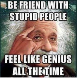 Be Friend With Stupid Person 600x613 1