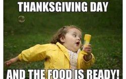 Thanksgiving-Holiday vs Halloween-Holiday: 19 Night Funny Memes and Motivational Pictures.