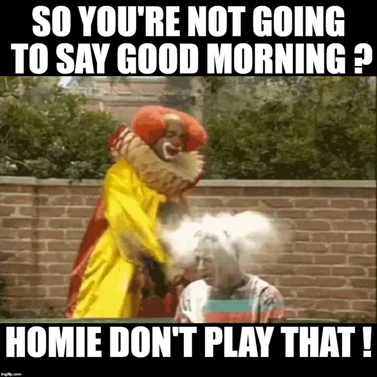 so youre not going to say good morning funny meme