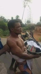 Popular Clergyman Elijah Chukwuebuka Caught With Human Head And Charms In His Church In Umunze, Anambra State, Nigeria. (Video)