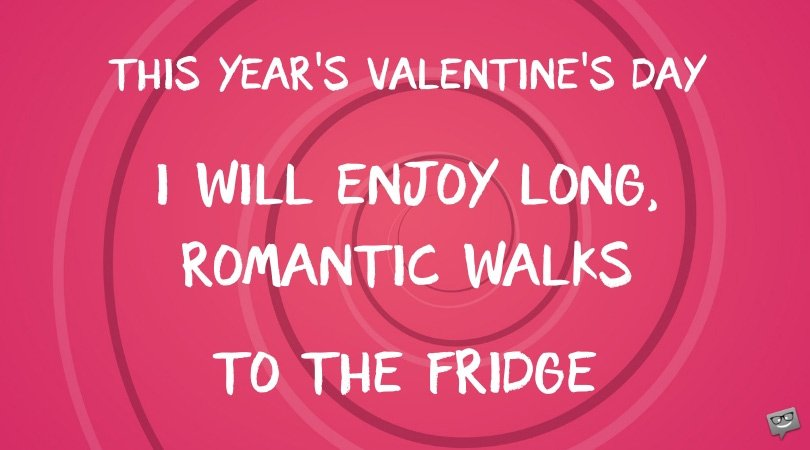 funny single quote valentines day