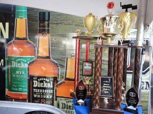 11-9-13 Dickel Tailgate Trophies