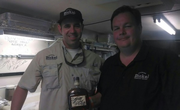 Dorsey with George Dickel Distiller, John Lunn