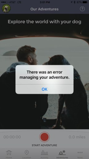 This was the error message I kept getting over and over.