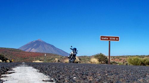 Motorradparadies Teneriffa - Bild anklicken zum Vergrößern