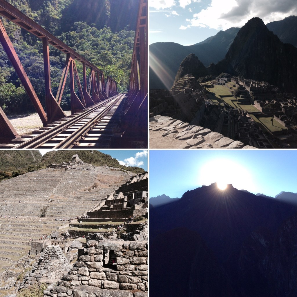 Photos of Machu Picchu and the walk to Aguas Calientes