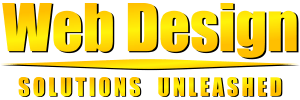 Web Design Solutions Unleashed Logo