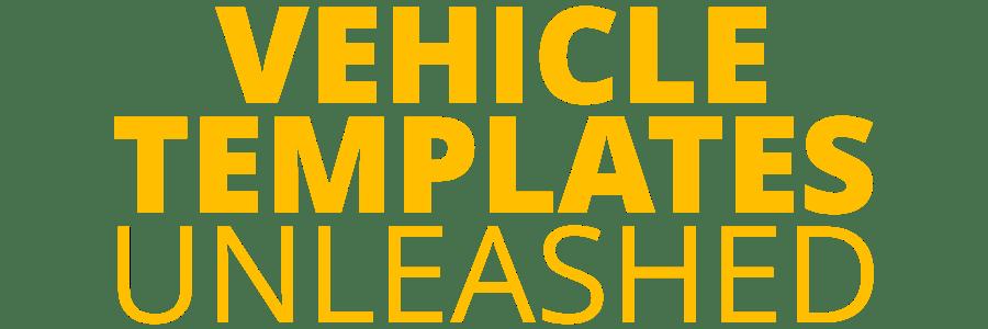 Vehicle Templates Unleashed Logo