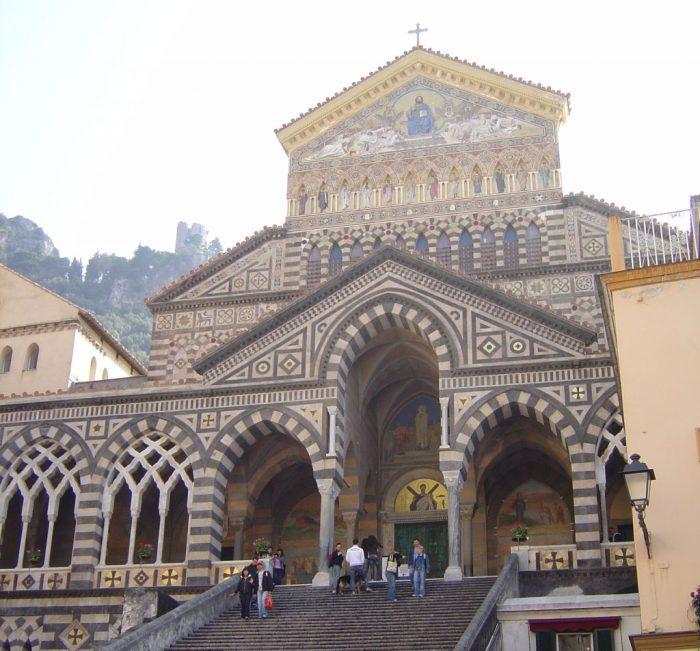 The Duomo in Amalfi