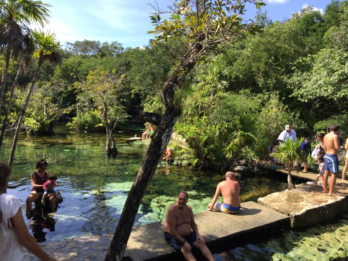 Until next time, Cenote Azul!