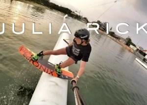 Julia Rick - Pro Girl Wakeboarder