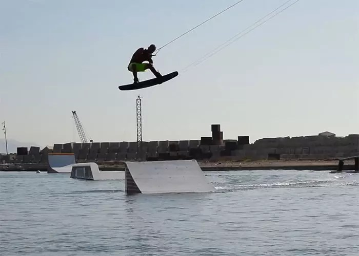 Christian Ramirez in Barcelona Cable Park