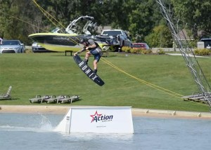 Derek Huntoon at Action Wake Park