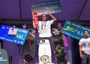 WWA Wake Park World Championships guenther oka on podium