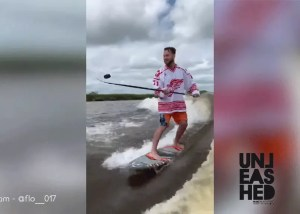 wakesurf hockey
