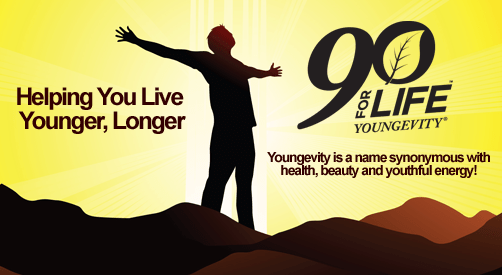 Live younger longer 90forlifeimage