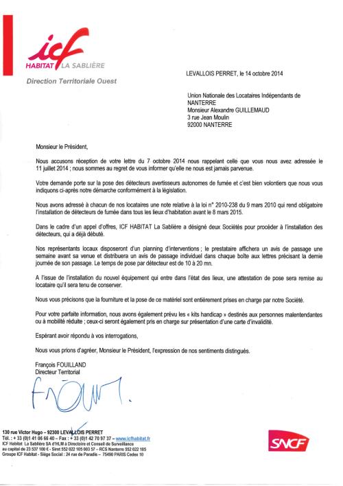14-31à37 - Détecteurs de fumées relance (ICF La Sablière)