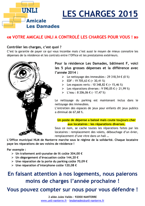 Tract 2015 - Les Damades F