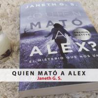 Reseña #56: Quién mató a Alex