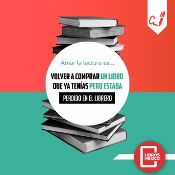 Eso es no saber qué libros tienes por no haberlos leído.