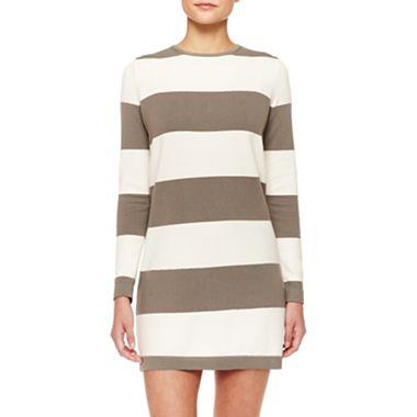 MNG by Mango Zip Back Sweater Dress
