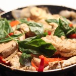 Chicken & Basil Stir Fry