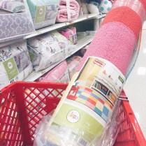 I had been holding out on getting a rug for my kids unisex playroom. Glad I did, scoring this at 50% for just $30. Now to get it in the car in the monsoon outside #Target