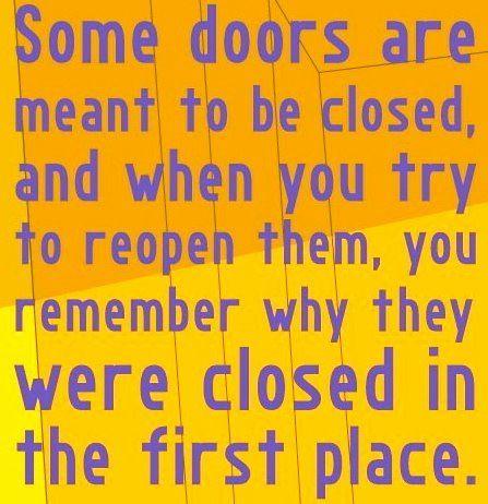 Closed doors 2