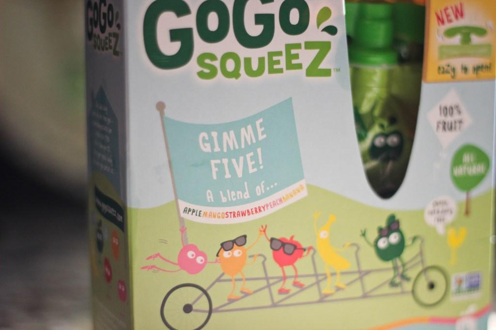 GoGo squeeZ Gimme Five