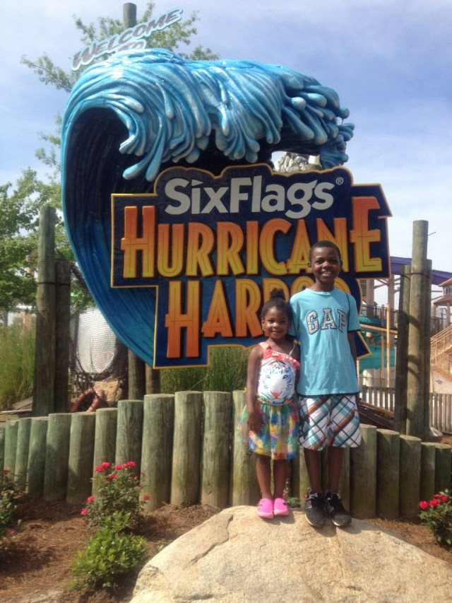 Six Flags over Georgia Hurrican Harbor
