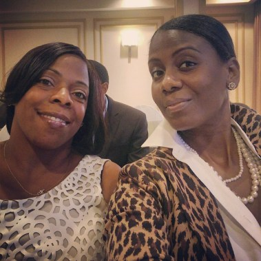Cousin and I on our evening wedding behavior