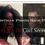 Christmas Photo Prep with Conair Curl Secret and Pro 3Q