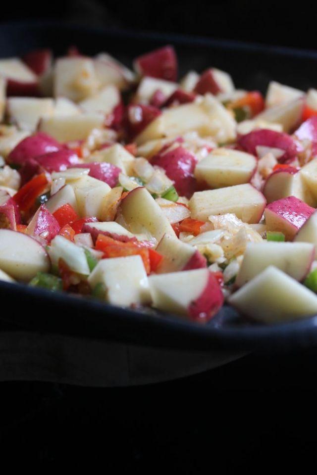 Breakfast potato recipe
