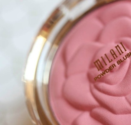 Milani Romantic Rose, Blush for Dark Skin, Milani Cosmetics