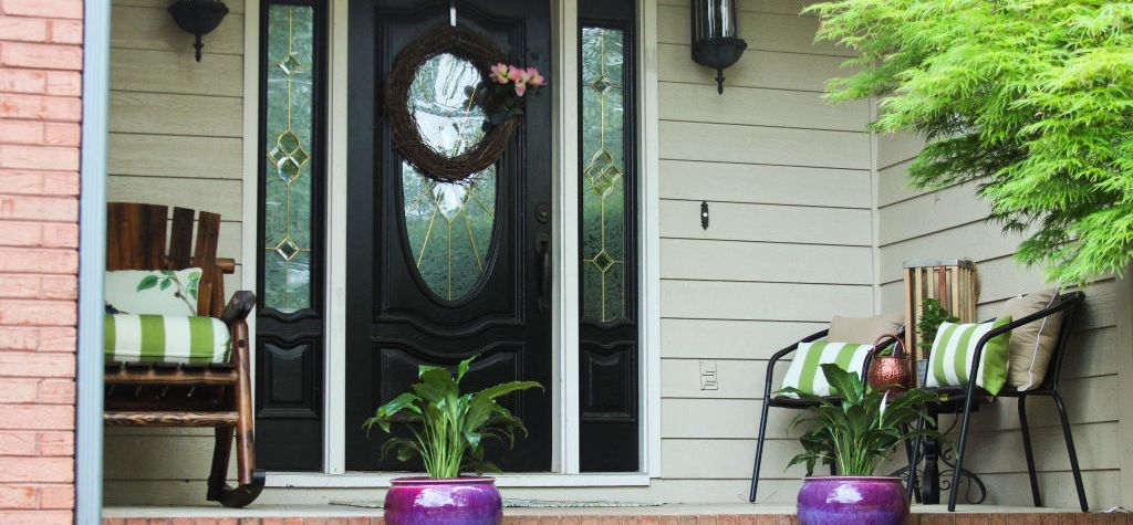 Spring Front porch