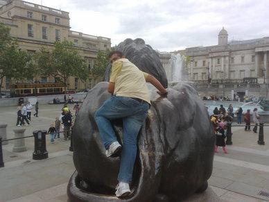 Lions At Trafalgar Square