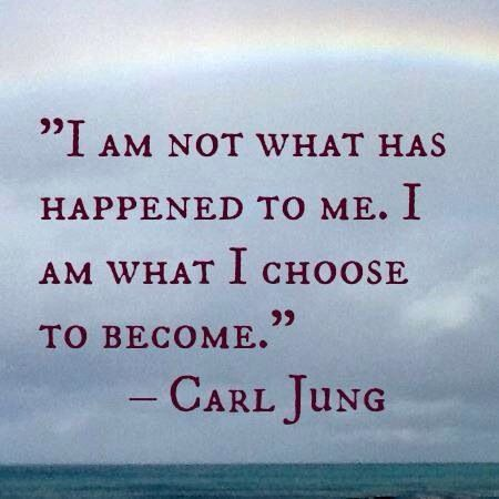 Carl Jung Inspirational Quote Choice