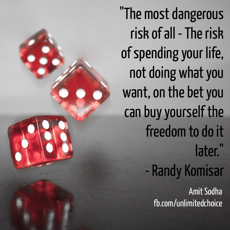 Quotes about Risk