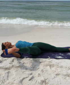Supine lateral hip extension