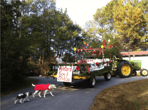 First Place Float, 2012 Watkinsville, Georgia Christmas Parade