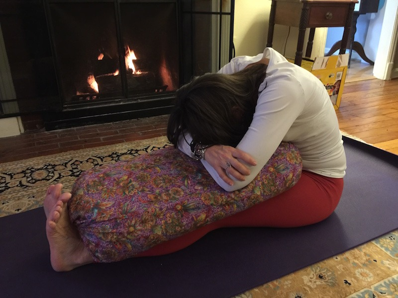 Wouldn't You Rather Be Practicing Restorative Yoga About Now?