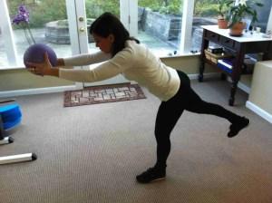 Balancing T With Ball