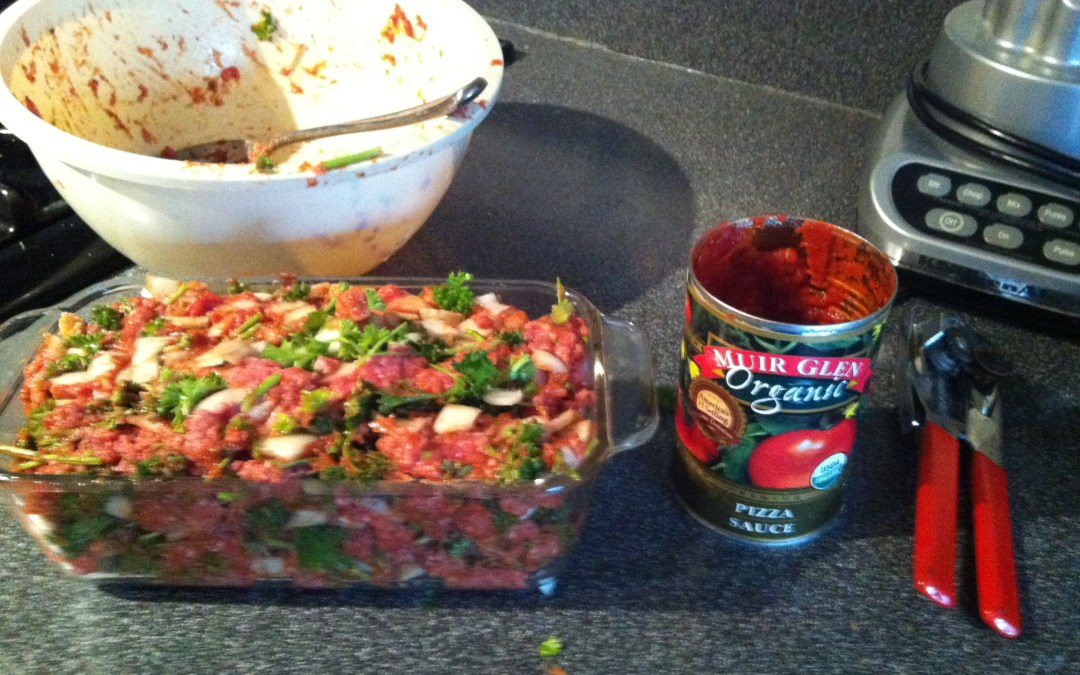 Healthy Organic Meatloaf