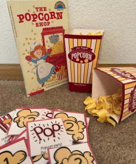 "Speech Therapy Unit for Elementary Aged Students. The Popcorn Shop accompanied by a free TPT resource and some ""popcorn"" and you've got a days worth of sessions to target all your students' goals!"