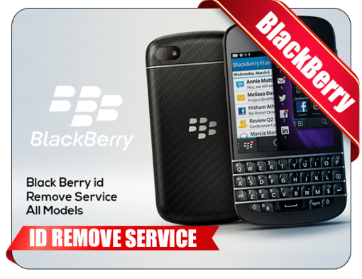 BlackBerry ID Remove Service All Models Tool
