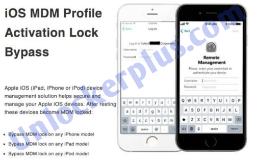 Apple iPhone iPad iPod All Version MDM Bypass - UnlockerPlus | Welcome To  Possible